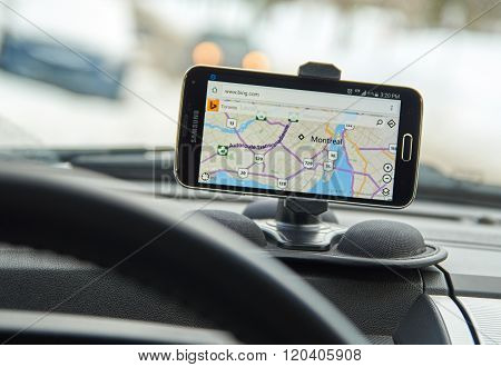 Gps Bing Maps