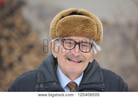 Vital Elderly Man