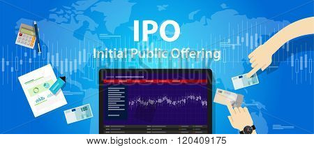 IPO initial public offering stocks market company