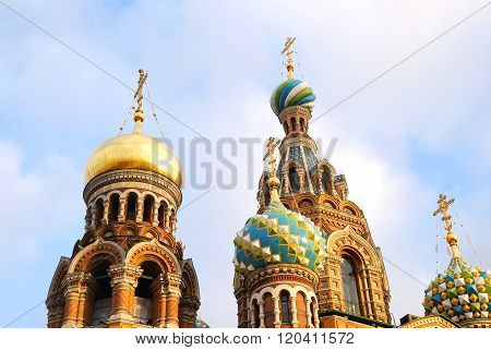 Ortodox Church of the Savior on Blood in Saint Petersburg