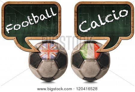 English Football And Italian Calcio
