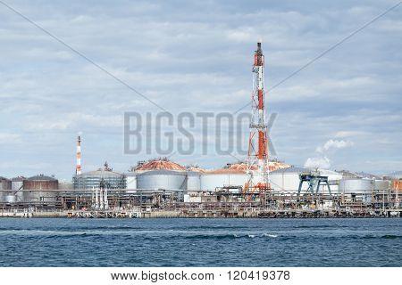 Seaside Industry factory in Kawasaki