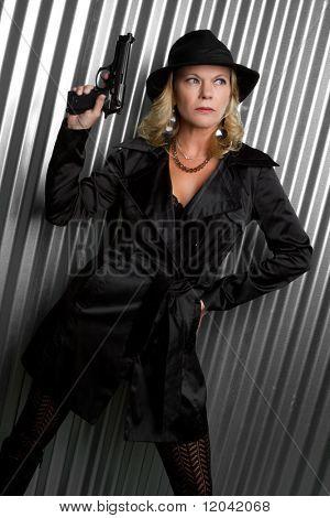 Sexy Detective Woman