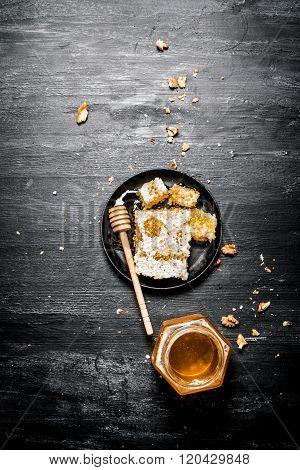 Jar Of Natural Honey