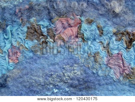 felt, background, material, Multi-colored wool, texture,