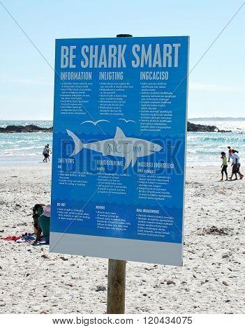 Attention - Be Shark Smart.