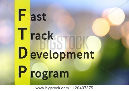 Fast Track Development Program