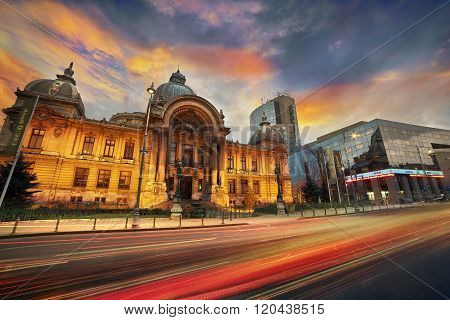 Bucharest Contrast Architecture