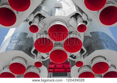 Space rocket engine