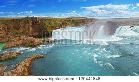 Godafoss, Gods Waterfall, Waterfall