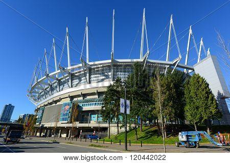 BC Place Stadium, Vancouver, Canada