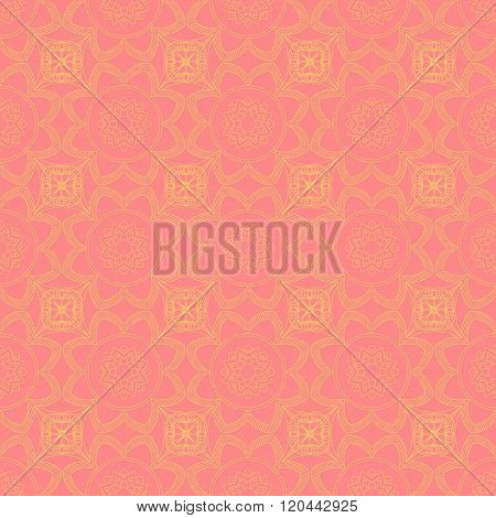 Abstract Seamless Pattern. Vintage Ornament Pattern. Ethnic decorative elements for print and cloth