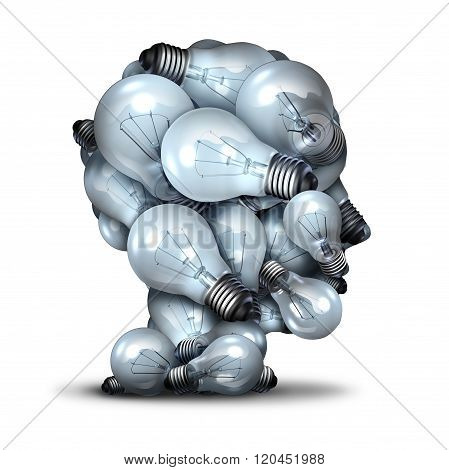 Light Bulb Head