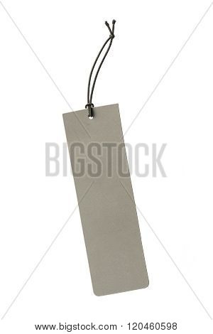Gray Color Hanging Tag