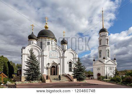 Trinity Cathedral. St. Tikhon Transfiguration Monastery. Zadonsk. Russia