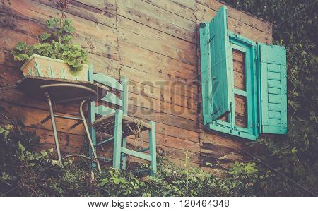 Old Wooden Decoration