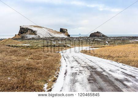 South Rereykjanes Penninsula Of Iceland