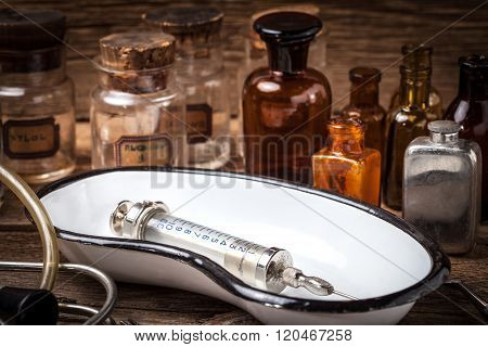 Old Medical Instruments.