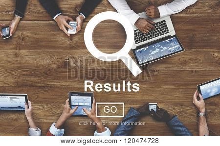 Results Outcome Effect Productivity Assessment Achievement Concept
