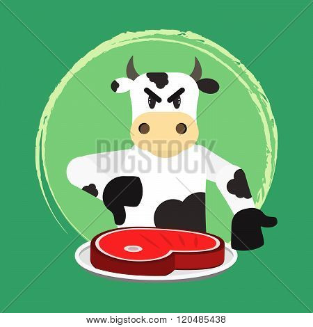 Angry Bovine And No Beef