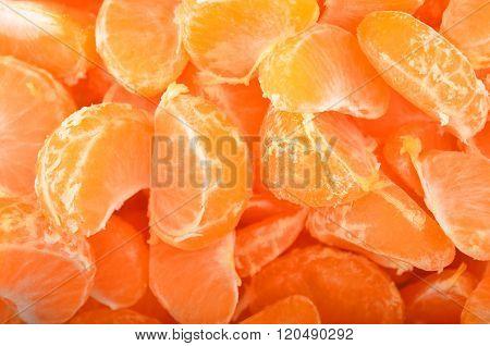 Peeled Mandarin, Close-up