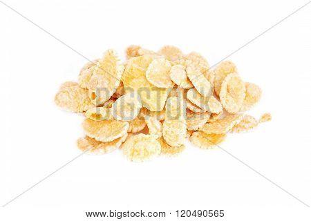 Cornflakes On White