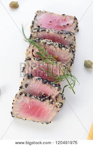Ahi Tuna Seared