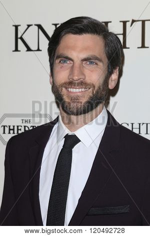 LOS ANGELES - MAR 1:  Wes Bentley at the Knight of Cups Premiere at the The Theatre at The ACE Hotel on March 1, 2016 in Los Angeles, CA