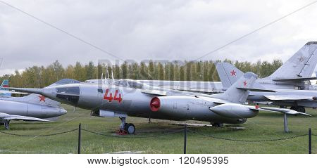 Yak-28- Front Bomber(1958)max.speed,km/h-1800.the First Soviet Supersonic Front Bomber In A Series