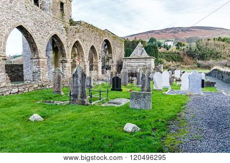 Baltinglass Abbey In Ireland