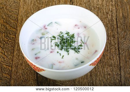 Cold Kefir Soup