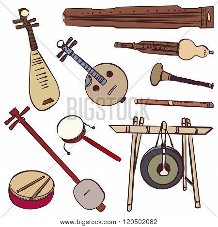 Chinese Traditional Musical Instruments