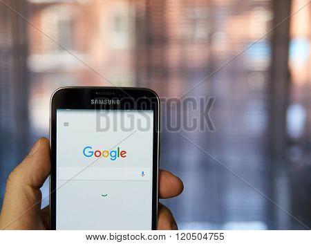 Google Mobile App.