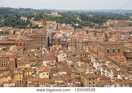 Elevated View Of Florence