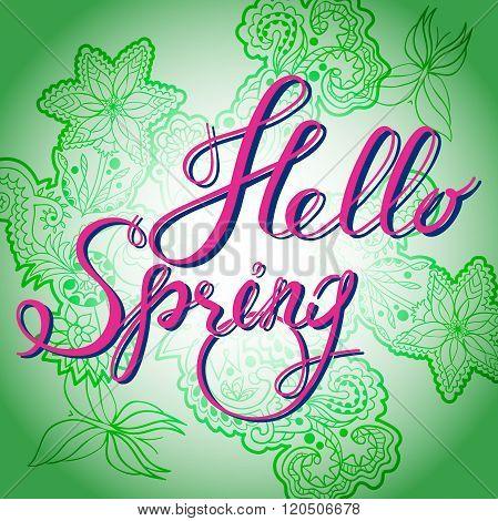 Hello Spring Green