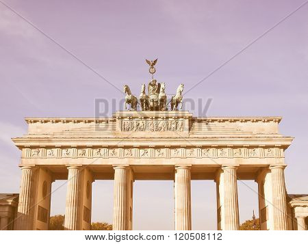 Brandenburger Tor, Berlin Vintage