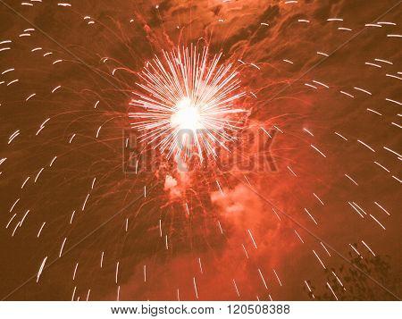 Fireworks Vintage