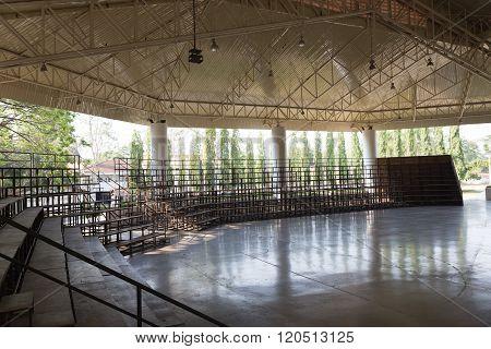 Grandstand In Stadium