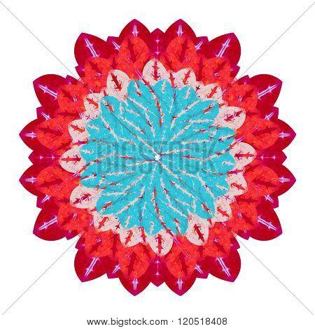 Felt Tip Isolated Flower