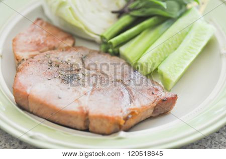 Pork Steak Dish