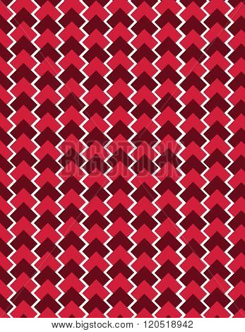 Red square pattern over white color background
