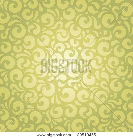 Retro green vintage vector design