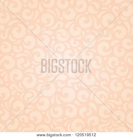 Retro wedding floral Ecru beige holiday vintage invitation background design