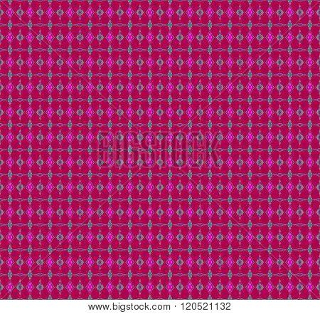 Seamless diamond pattern violet gray turquoise