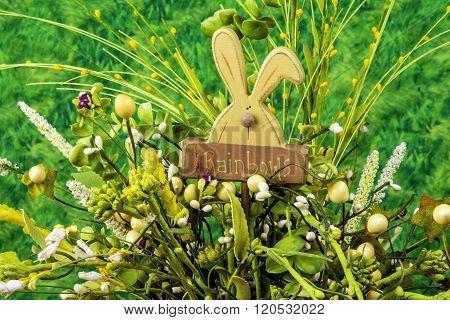 wood craft rabbit