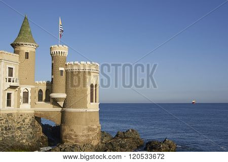 Wulff Castle in Vina del Mar
