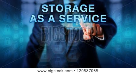 Virtual Architect Touching Storage As A Service