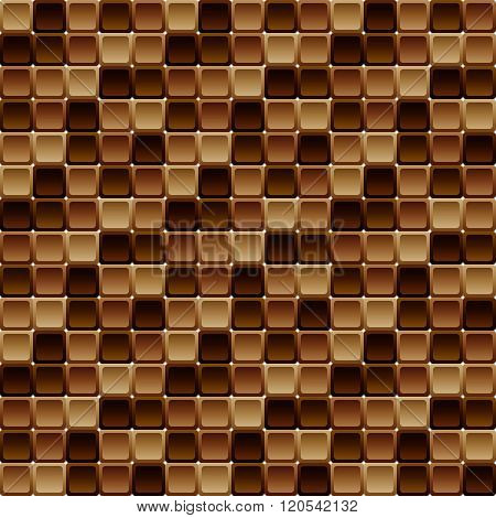 Seamless Tile Pattern Made Of Rounded Squares