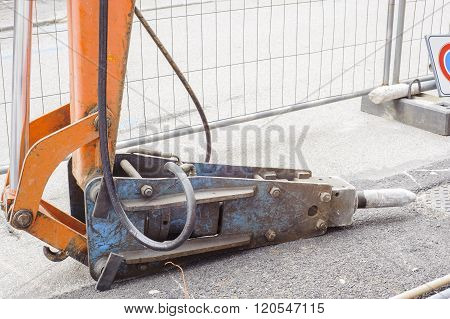 Large Pneumatic Hammer