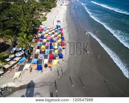 Aerial View of Juquehy Beach, Sao Paulo, Brazil